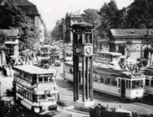Verkehrsturm Potsdamer Platz